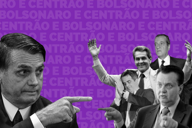 Bolsonaro lambe as botas do centrão!