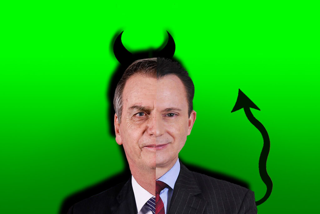 Russomano é fantoche de Bolsonaro!